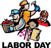 clipart of the labor day