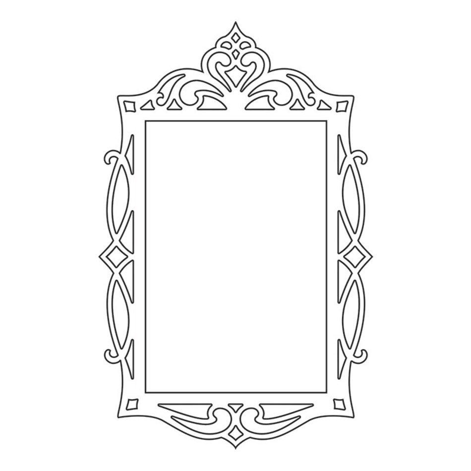 Rectangle Fancy Frame