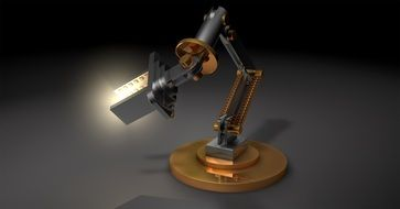 Light Lamp Robot Robot Arm
