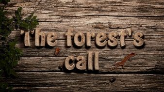 'The forest's call' clipart