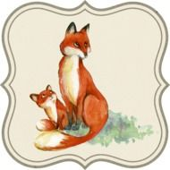 clipart of the foxes