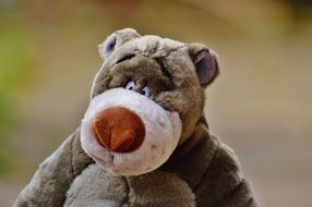 cute Bear plush Disney Toy