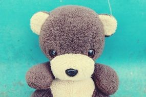 grey Teddy Bear Soft Toy