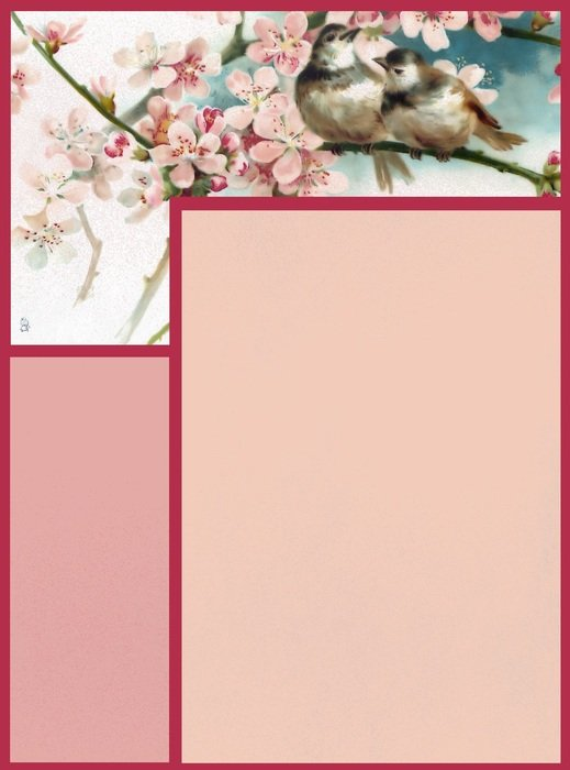 floral paper for scrapbooking