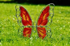 Metal Decoration Butterfly