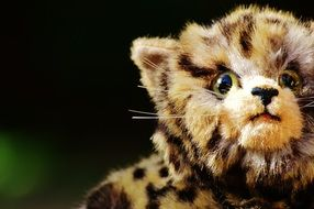 toy plush leopard