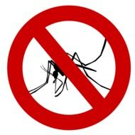 sign of mosquito protection