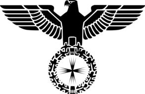 emblem with an eagle