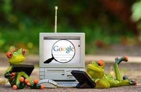 Google Frogs
