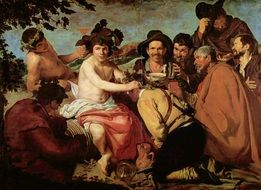 The Triumph Of Bacchus Painting from 1628-1629