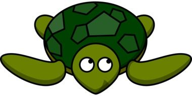 cartoon green Turtle