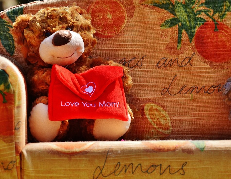 teddy bear for Mother's Day
