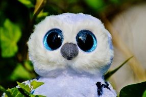 soft toy of a snowy owl