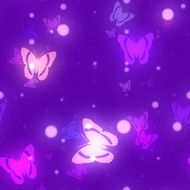 Butterfly background clipart