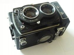 old camera of 1958