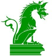 Green dragon picture