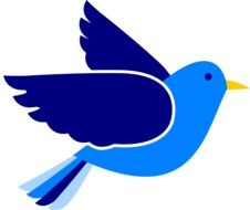 blue dove, peace symbol