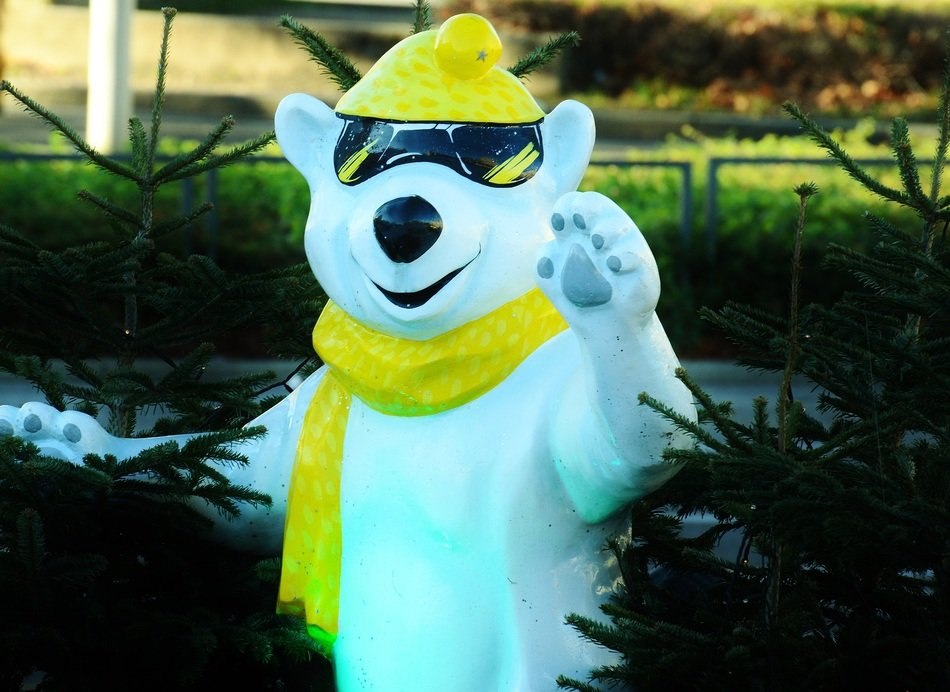 Cool Polar Bear figure