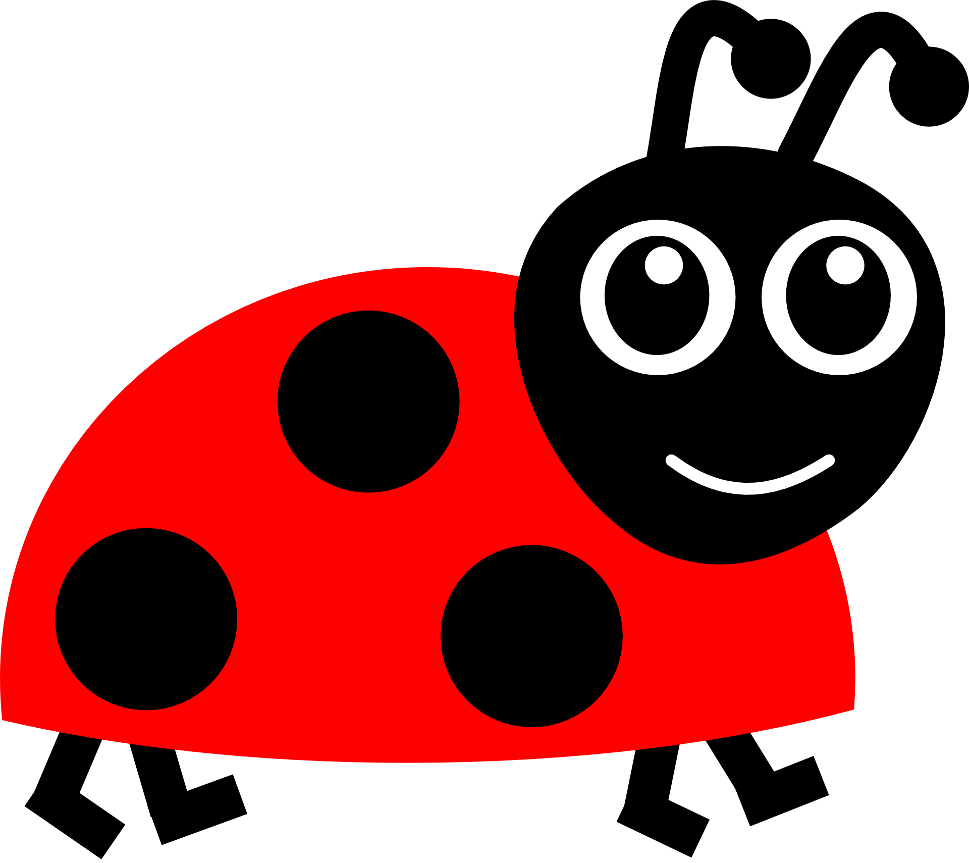 A Cartoon Ladybug cartoon character ladybug free image