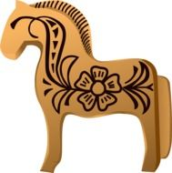 Horse drawing clipart