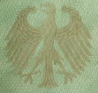 eagle, state symbol of Federal Republic of Germany