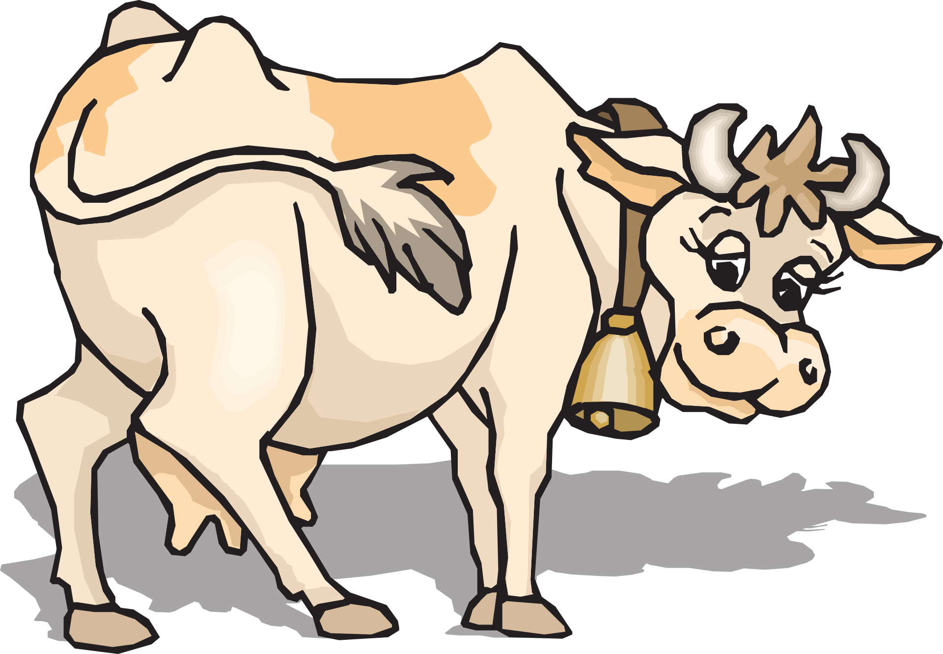 cow farm cartoon drawing free image https pixy org licence php