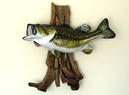 wooden fish figurine