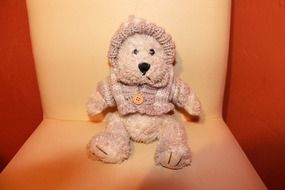 cute sitting teddy bear