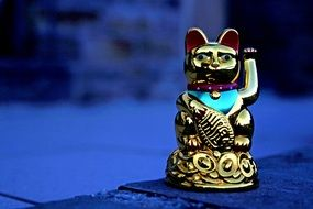 asian golden maneki neko