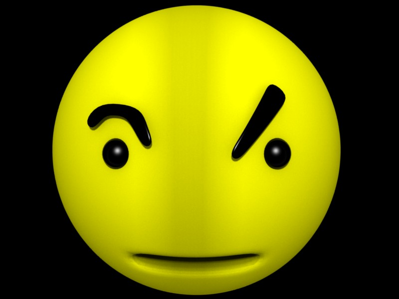 sarcastic smiley face clip art free image rh pixy org Smiley-Face Emotions Clip Art Dancing Smiley Face Clip Art