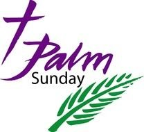 Palm Sunday Clip Art drawing