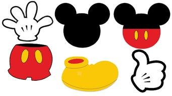 details of Mickey Mouse