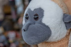 Cute monkey soft toy