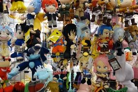 Plush Figure Comic Anime