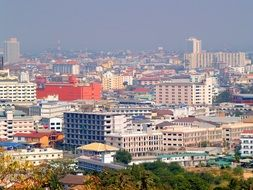 view of the city in thailand