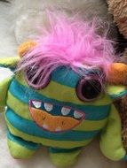 cute monster plush baby toy