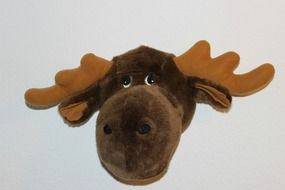 elk plush head
