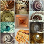 Different kinds of stairs