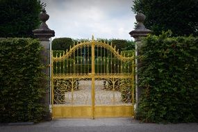 Golden Gate to Herrenhausen Gardens