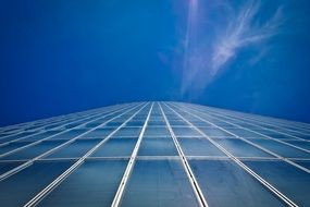 skyscraper glass facades