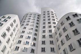 modern building facade by gehry