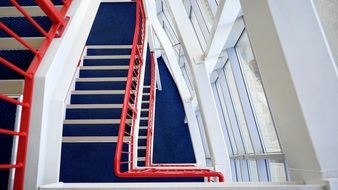 staircase in the white house