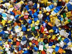 Colorful Lego figures