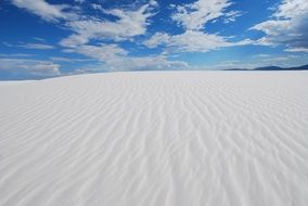 the White sand Scenic Landscapes