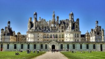 chateau de chambord in france