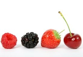 Different delicious berries