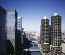 Beautiful architecture of Chicago