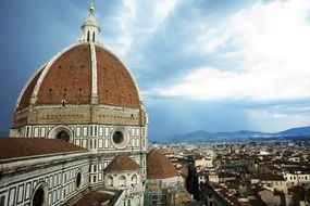 Florence Cathedral in Italy