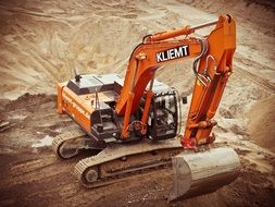 Excavator Construction Site