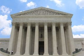 supreme court building in usa